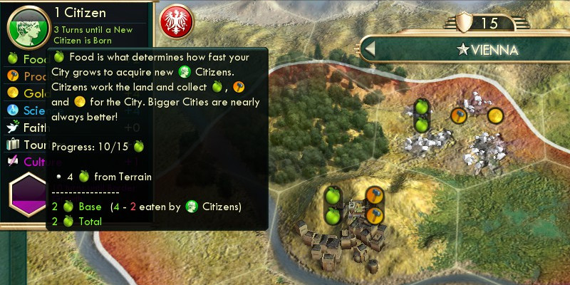 Cities, growth, and the late-game slowdown
